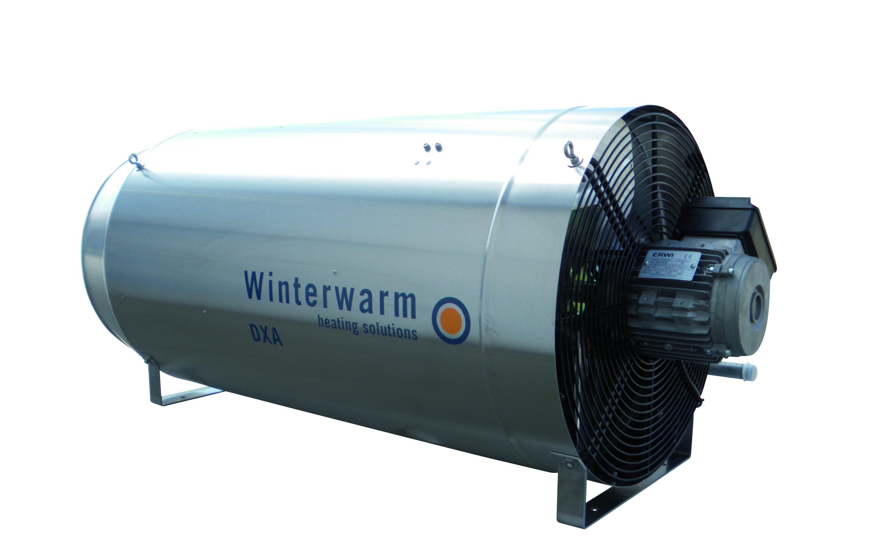 Wizualizacja nagrzewnicy gazowej Winterwarm DXA.