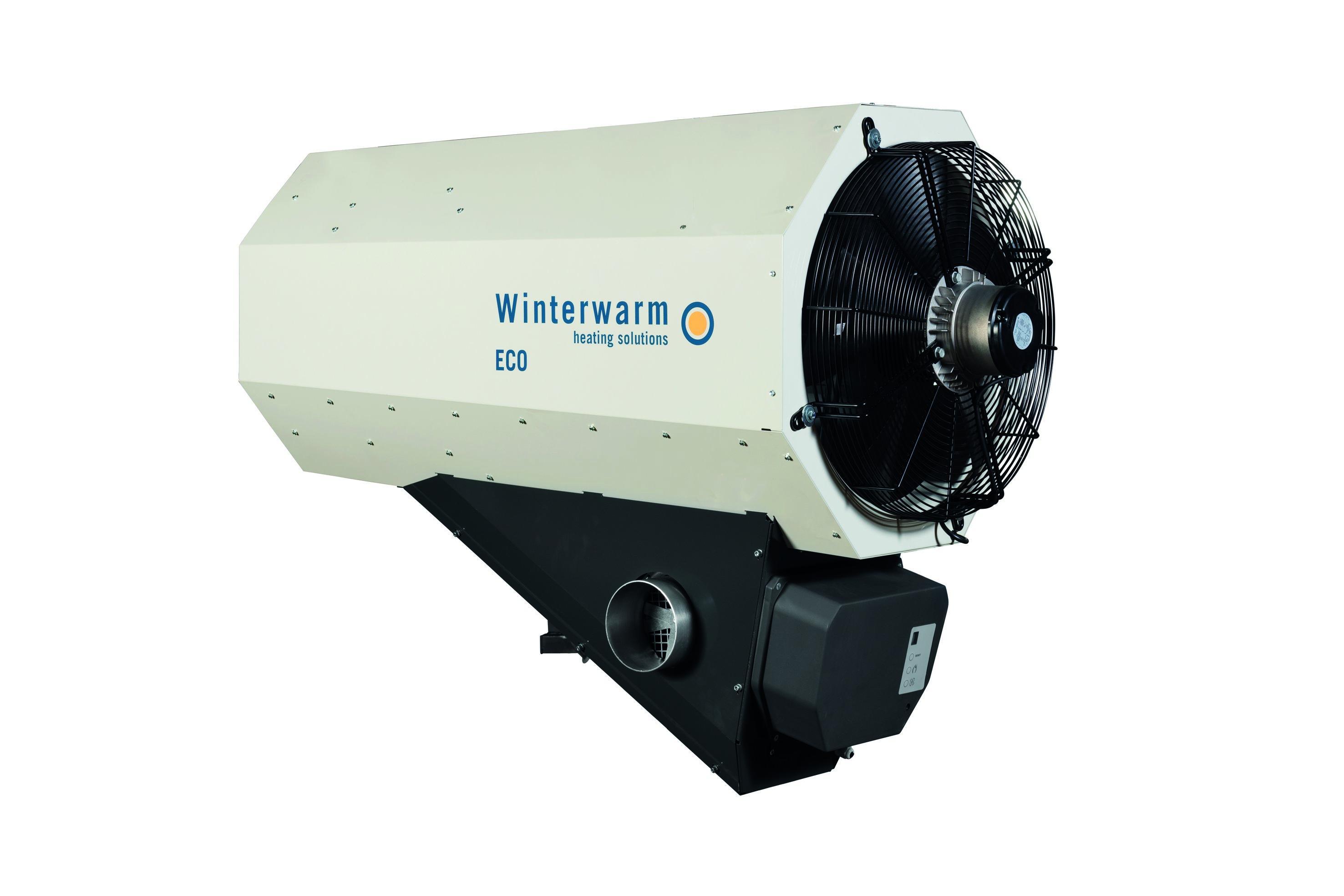Wizualizacja nagrzewnicy gazowej agro Winterwarm ECO